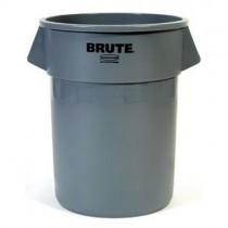 Rubbermaid BRUTE 32 Gallon Gray Trash Can