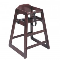 Update WD-HCM Infant High Chair - Mahogany Finish