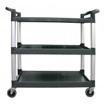 "31 X 16 X 37"" / 3-Tier Bus Cart / 300"