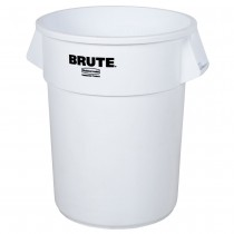 Rubbermaid BRUTE 20 Gallon White Trash Can