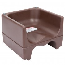 Cambro 200BC Dual Seat Booster Chair - Brown