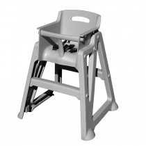 High Chair / Plastic / Gray