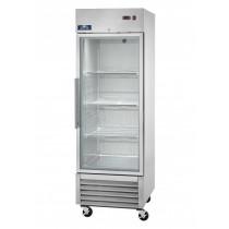 AGR23 Single Door Glass Reach-in Refrigerator