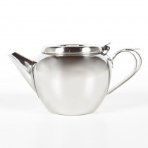 48 oz Stackable Tea Pot Stainless Steel