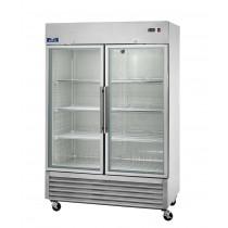 AGR49 Two Door Glass Reach-in Refrigerators