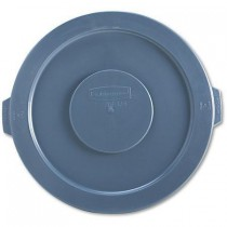 Rubbermaid Commercial Round Gray Brute Lid For Waste Containers