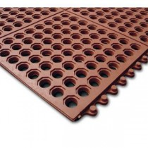 "Ultra Mat Thickness: 1/2"" Red"