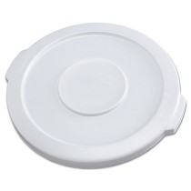Round Brute Flat Top Lid for 10-Gallon Containers